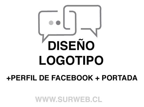 diseño logotipo + perfil de facebook + portada