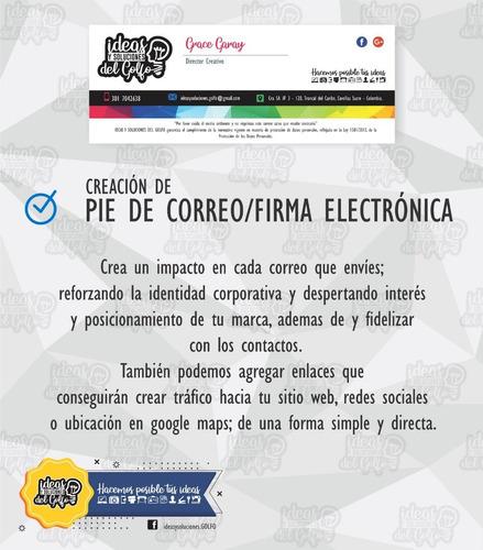 diseño:  logotipo + redes social y papelería - emprendedores