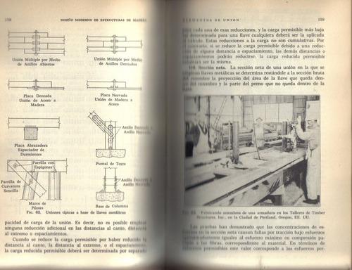 diseño moderno de estructuras de madera / howard j. hansen