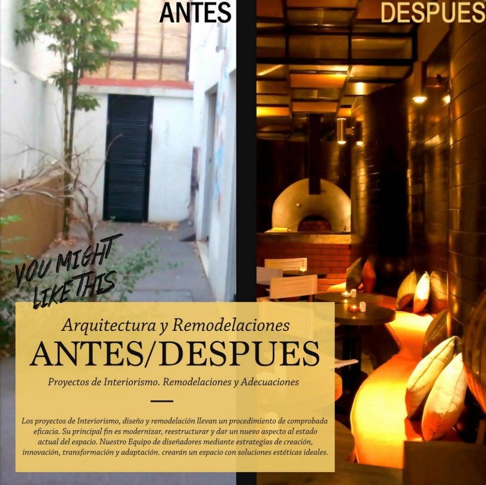 Dise o obra y construcci n restaurant bar hotel cafe - Empresa diseno de interiores ...