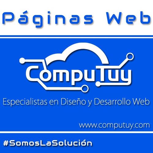 diseño página web autoadministrable tienda virtual logo