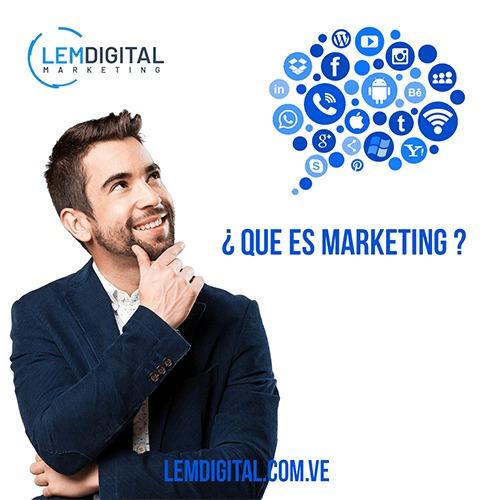 diseño página web / gestión redes sociales / marketing / seo
