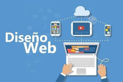 diseño pagina web y tiendas virtuales