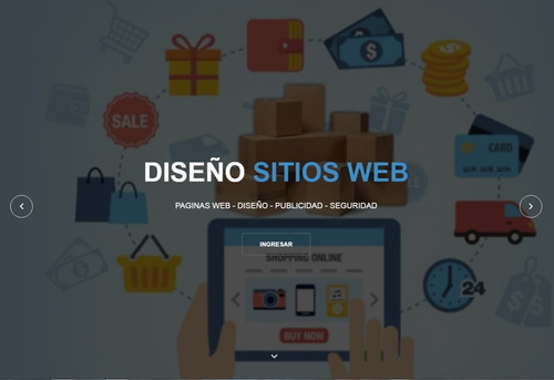 diseño paginas web basica administrable chat base de datos