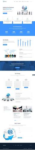 diseño paginas web de alta calidad profesional todo incluído