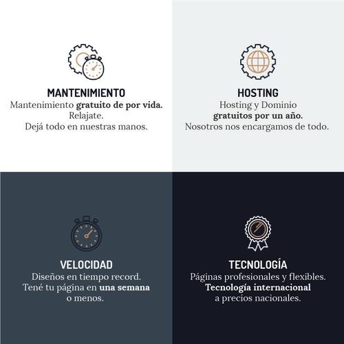 diseño páginas web institucional. autoadministrable. tienda.