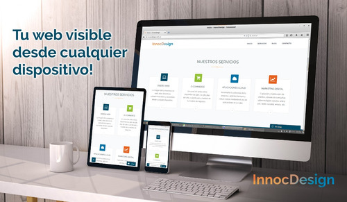 diseño paginas web pc, tablets y celulares. tienda virtual
