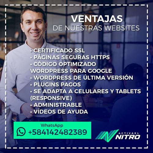 diseño paginas web profesional wordpress y tiendas virtuales