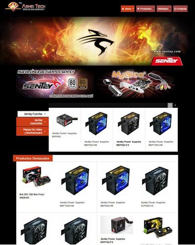 diseño paginas web, tienda online, administrable, celulares