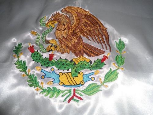 diseño para bordar escudo 20 x 20 cm para bandera