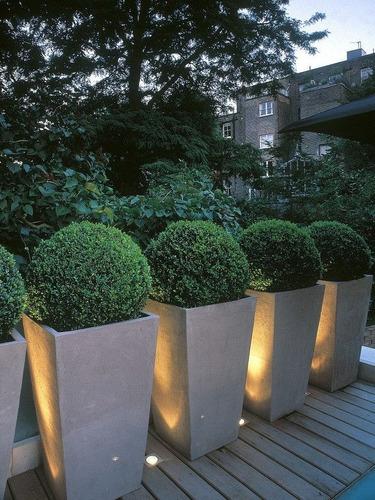 diseño parques jardines maceteros balcones terrazas oficinas