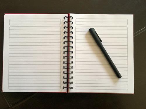 diseño personalizado de cuadernos encuadernación artesanal