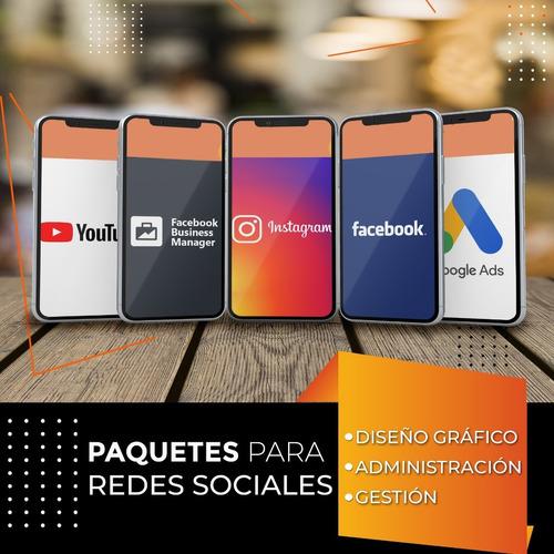 diseño redes sociales instagram facebook / community manager