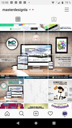 diseño redes sociales publicidad instagram community manager