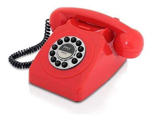 diseño retro con cable teléfono con cable - clásico cosecha