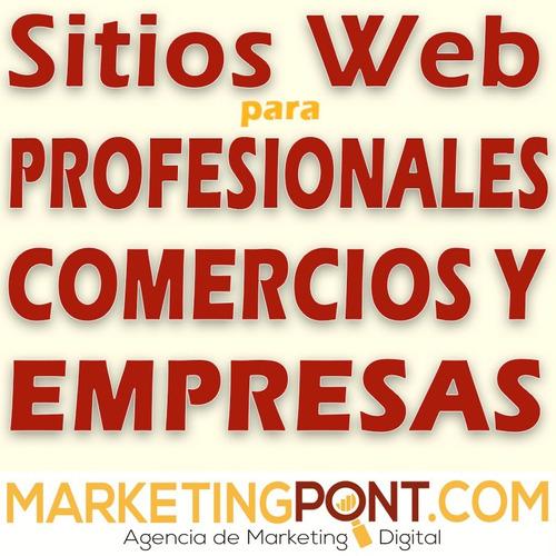 diseño sitios web profesionales empresas y comercios