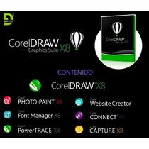 Corel Draw Graphics Suite X8 - Permanente Garantizado
