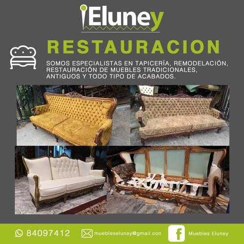 diseño, tapiceria y restauracion