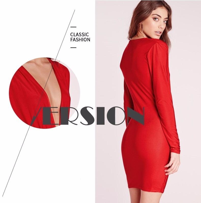 8fad22f33 Diseño. Vestido Fiesta Rojo Corto Casual Sensual Mujer Noche ...