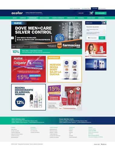 diseño web autoadministrable - sitio web - diseño gráfico