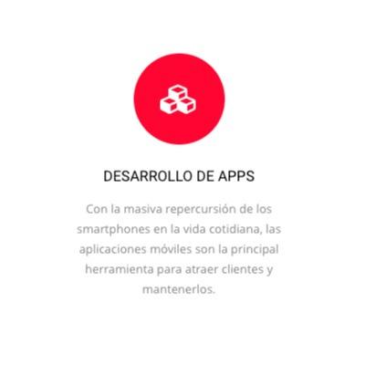 diseño web, desarrollo de apps, community manager, marketing