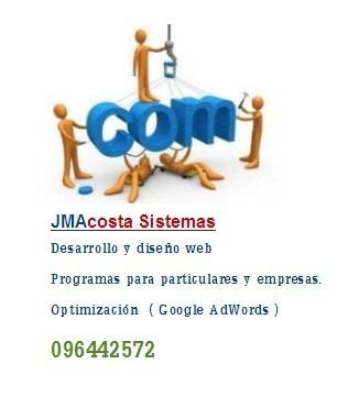 diseño web, desarrollo de software, páginas web,programador