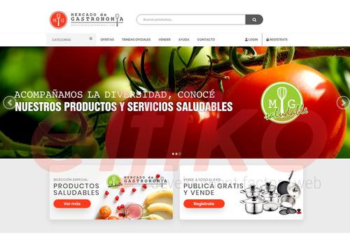 diseño web marketplace a medida - diseño web personalizados