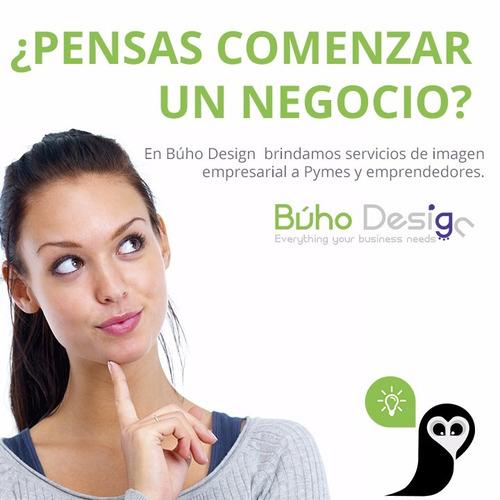 diseño web páginas profesionales, diseño logo, agencia búho