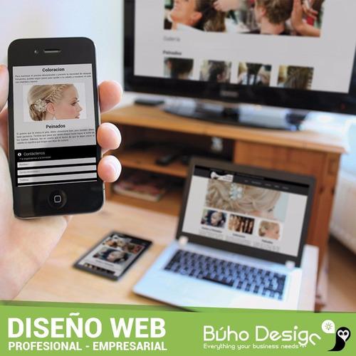 diseño web páginas profesionales logos empresas agencia búho