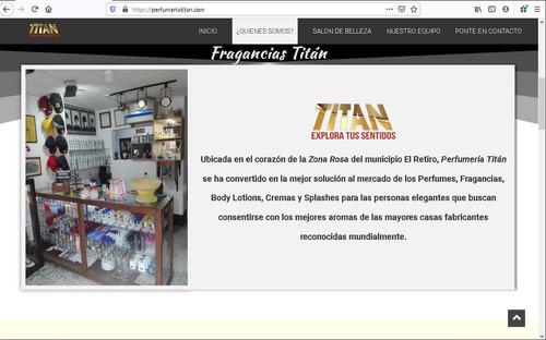 diseño web para negocios, empresas y marcas personales