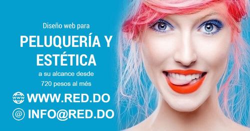 diseño web para peluquerías y centros de estética