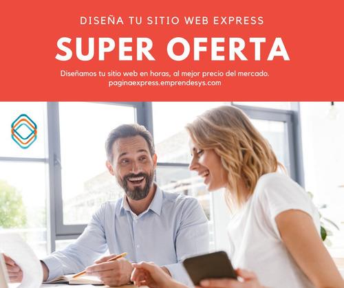 diseño web profesional en 999.00 pesos