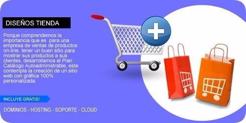 diseño web tienda online + webpay plus + servipag
