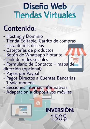 diseño web tiendas virtuales