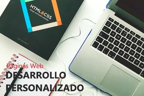 diseño y armado  de aplicaciones y paginas web a medida