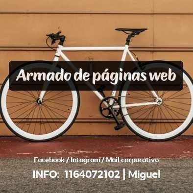 diseño y armado de páginas web
