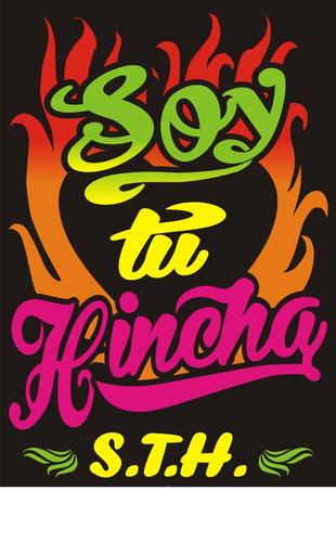 diseño y confeccion  de carteles y afiches chicha coloridos