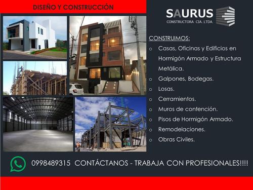 diseño y construcción, casas, oficinas, edificios, galpones