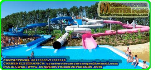 diseño y construcción de mega parques infantiles