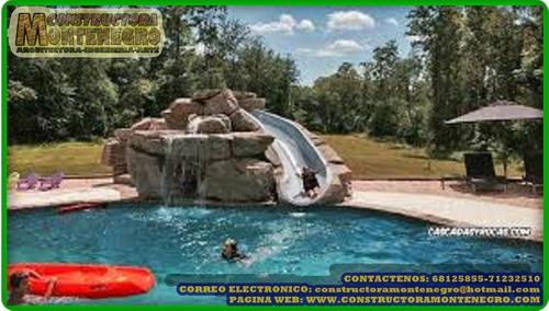diseño y construccion de piscinas tipo playa (o de arena