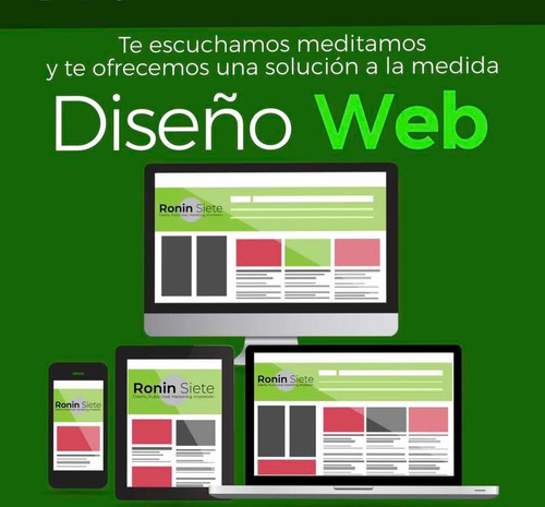 diseño y construcción de sitios web