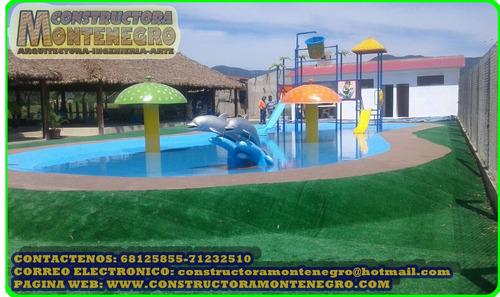 diseño y construccion de todo tipo de balnearios