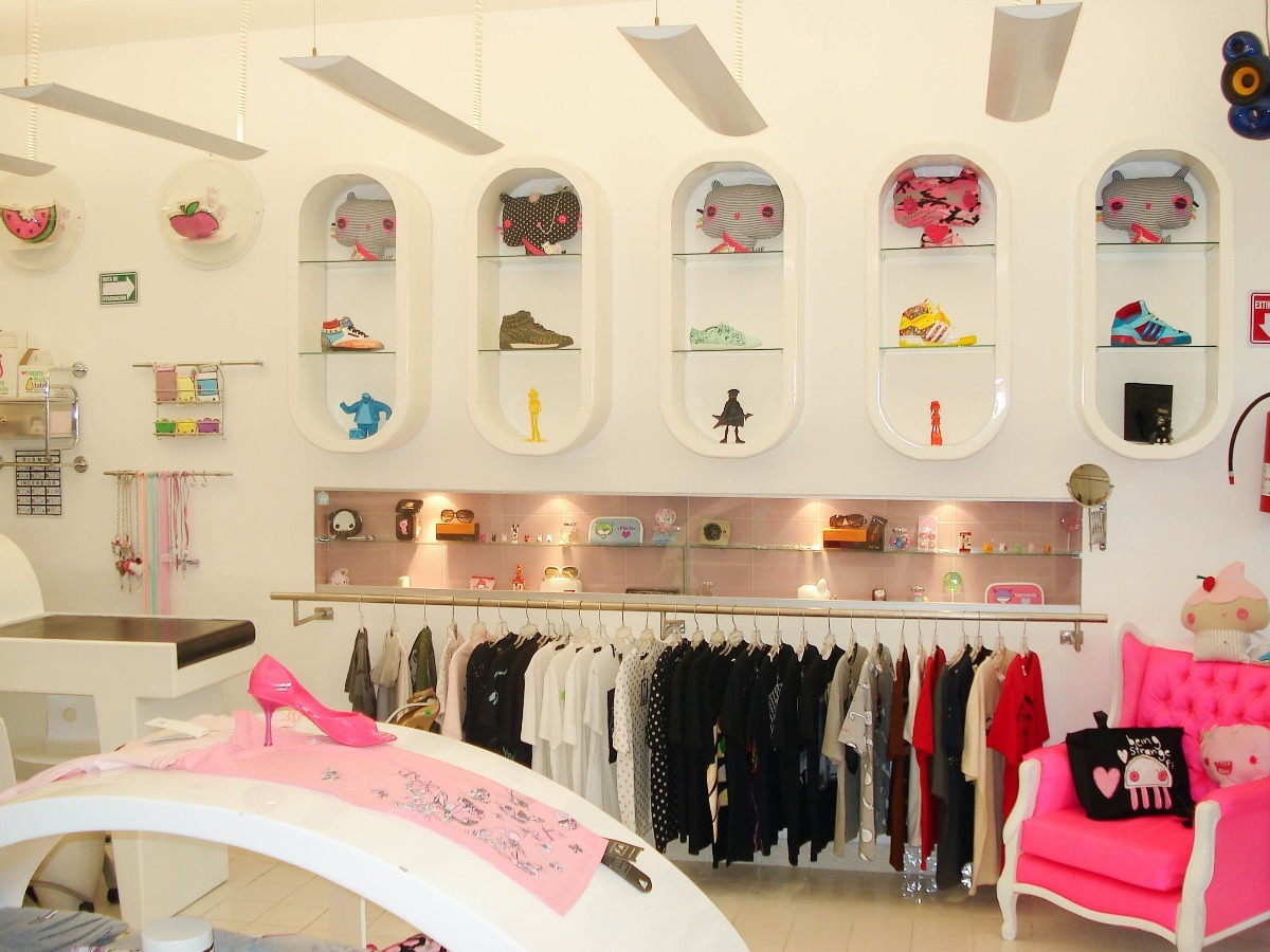 Dise o y decoracion de tiendas de ropa en todo mexico b for Disenos de tiendas de ropa modernas