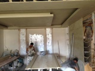 diseño y decoración en drywall, yeso y cielo raso.