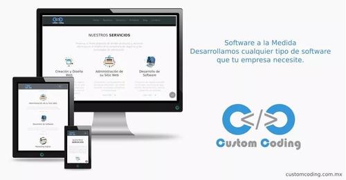 diseño y desarrollo de aplicaciones web y móviles.