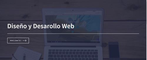 diseño y desarrollo de paginas web  - no hosting