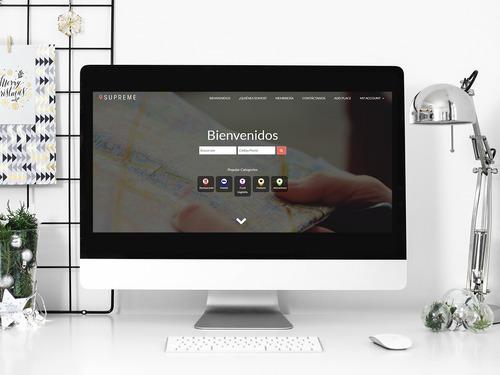 diseño y desarrollo web en wordpress + dominio y hosting
