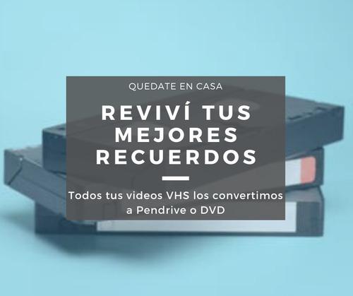 diseño y edición de imagen, audio y video en gral vhs a dvd