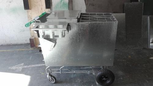 diseño y fabricación de carros de comida rápida (nuevos)