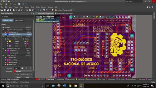 diseño y fabricación de circuitos impresos